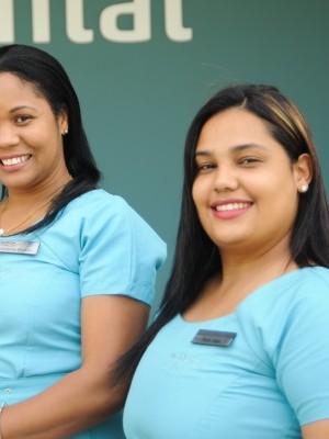 Dilcia Joga y Griselda Bertran