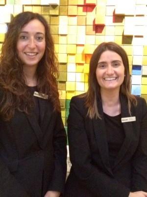 Marta Cazorla y Leticia Marco